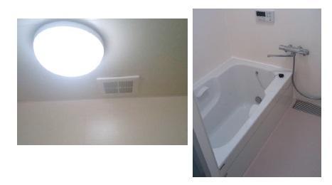 タイル張りからパネル張りの浴室へ♪