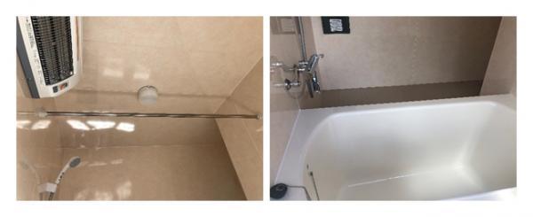在来工法の浴室改修工事