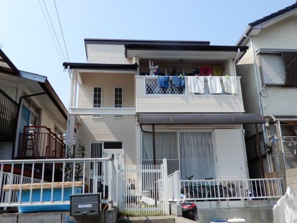 【高知市】外部工事/高知塗装/屋根カバー工法/U様邸