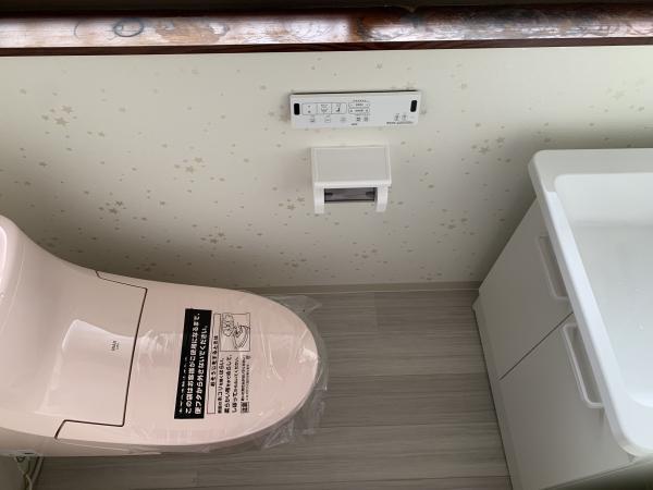 便利なトイレに(*^^*)