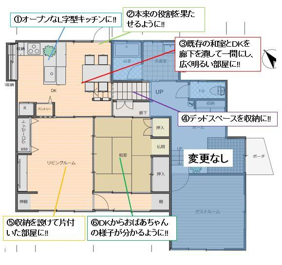 【高知市】キッチン工事/水廻り工事/内部改修工事/高知リフォーム/S様邸