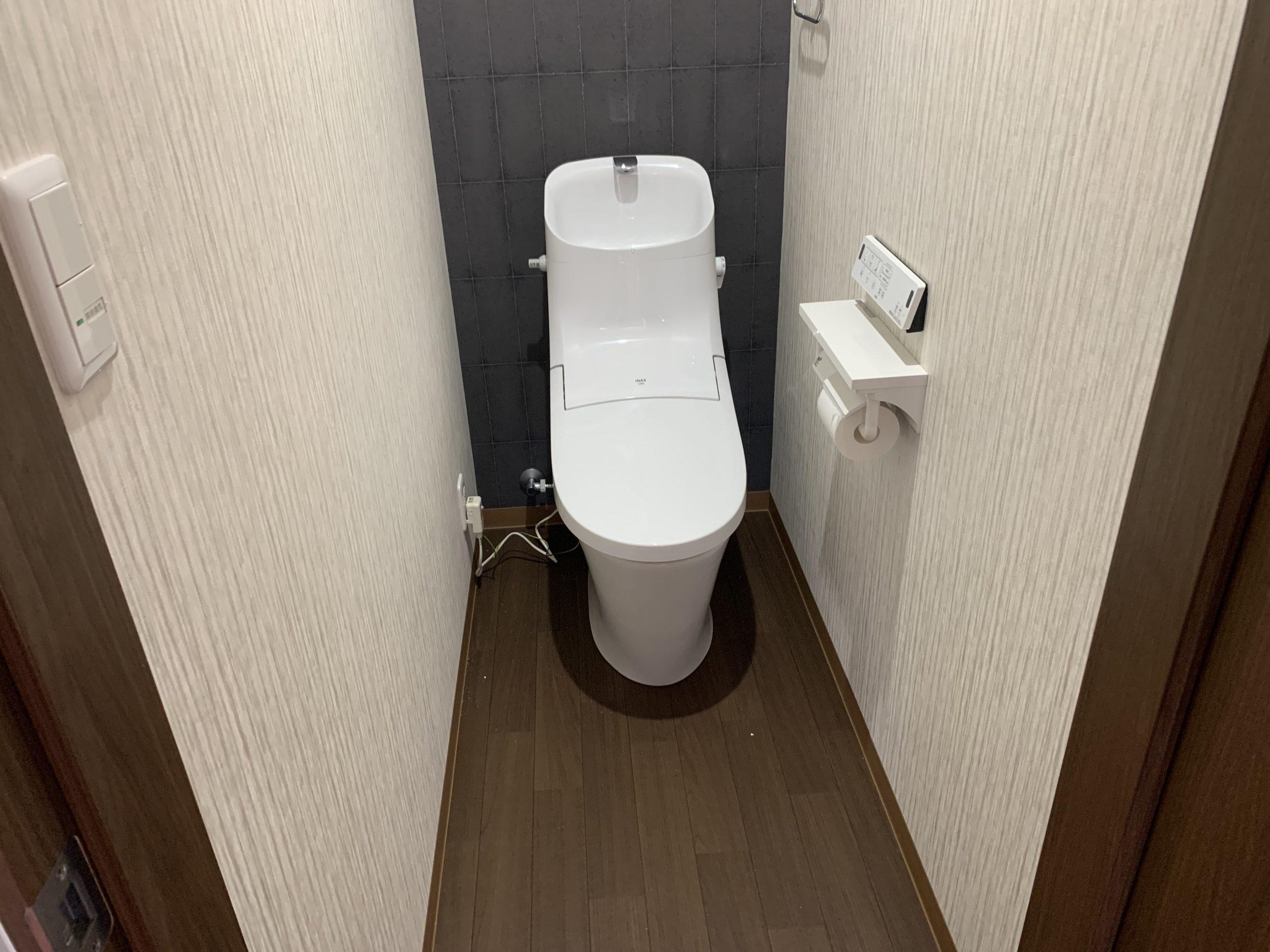 【過去現場ご紹介】高知市/K様邸三階改修リノベーション工事/水廻りbeforeAfter/トイレ/工事後