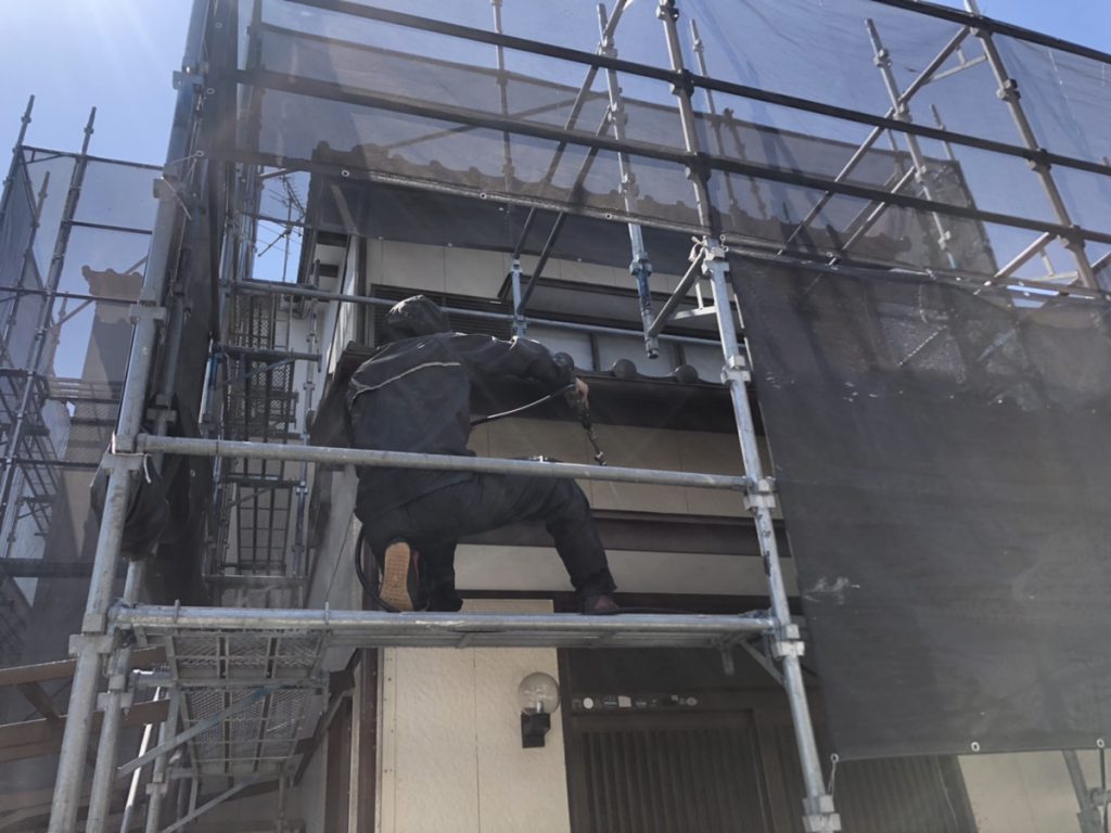 【高知市】高知塗装/外壁塗装/屋根塗装/Y様邸/格子交換/外部改修工事