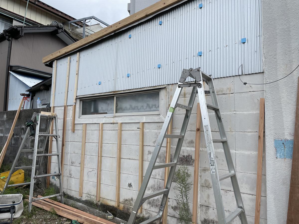 【高知市】店舗外観/板金工事/塗装工事/雨漏り補修/T様邸